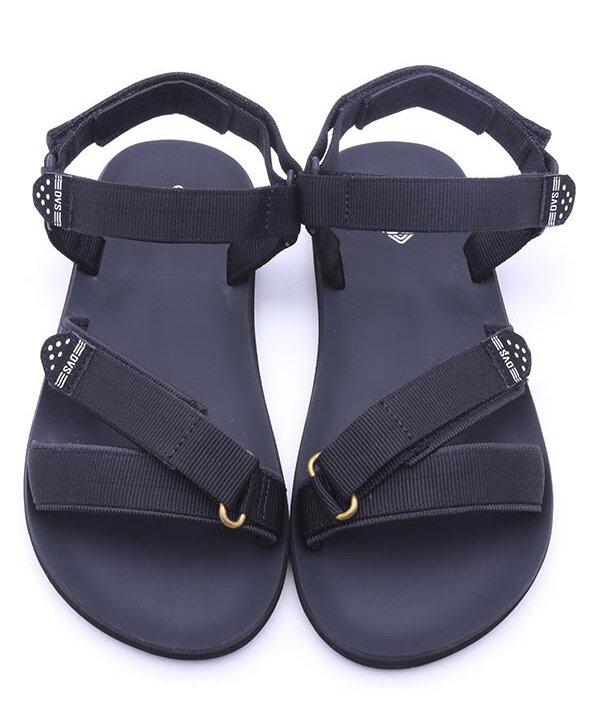 Giày sandal nữ màu đen DVS-WF040
