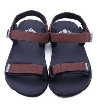 Giày sandal nữ quai màu nâu DVS-WF034