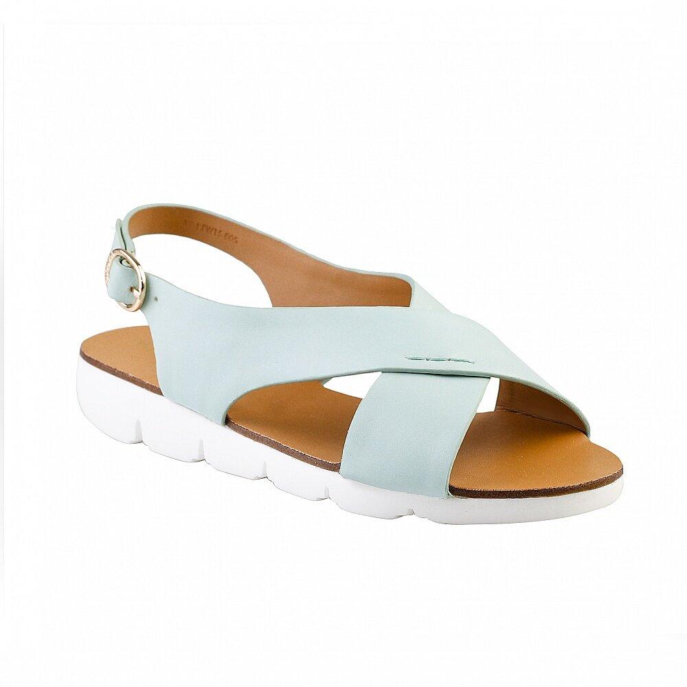 Giày Sandals đế bệt quai chéo