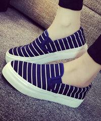 Giày SLIP-ON Kẻ Sọc SH004
