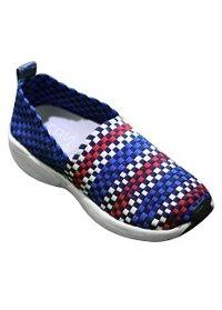 Giày Slip-on MUST Korea nữ đan ô vuông N06