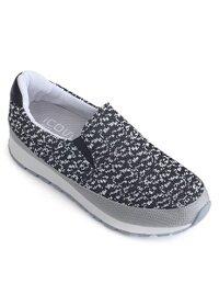 Giày Slip-on MUST Korea nữ phong cách thể thao N04