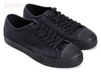 Giày sneaker nữ đan dây mũi da Aqua W1031A