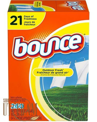 Giấy thơm quần áo Bounce 4 in 1 - 260 tờ