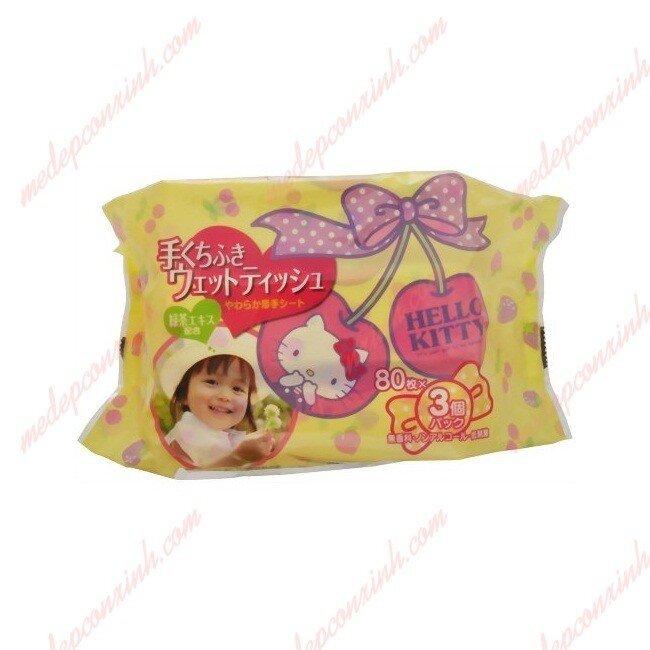 Giấy ướt LEC nước tinh khiết Hello Kitty – E045