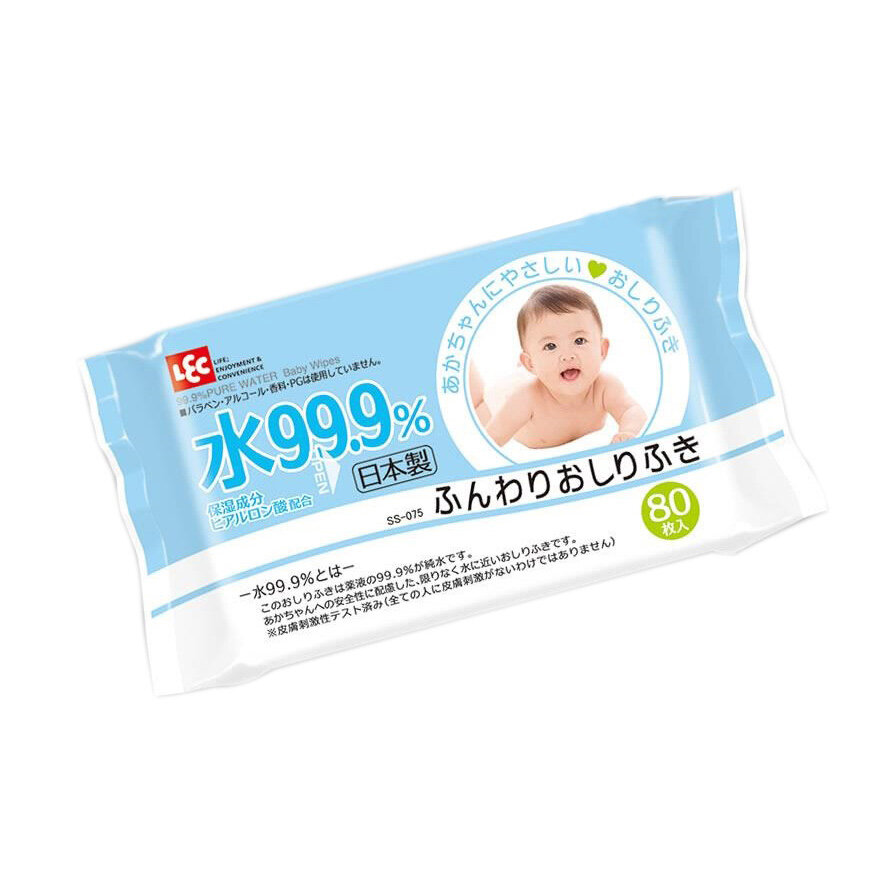 Giấy ướt tinh khiết LEC E161 80 tờ