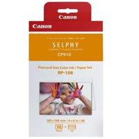 Giấy và mực in Canon RP108 - Dùng cho máy Canon Selphy CP820, CP910