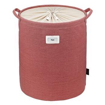 Giỏ đựng đồ tròn bằng vải trơn LLB351 - 60L