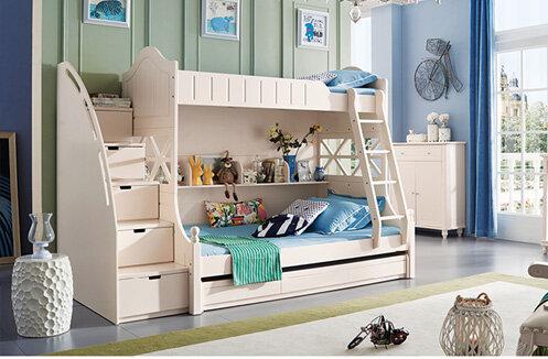 Giường 3 tầng cho bé Mozano JYA09