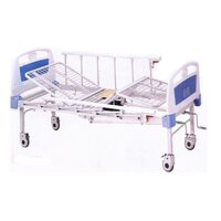 Giường bệnh nhân 2 tay quay có bô Unicare UCK207S32