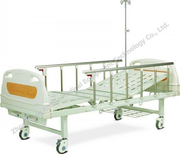 Giường bệnh nhân 2 tay quay ALK06-232B