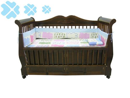 Giường cũi đa năng cho bé Nina
