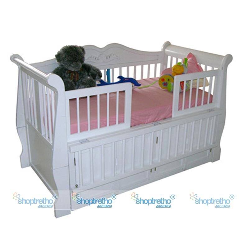 Giường cũi em bé Nina GT-0010