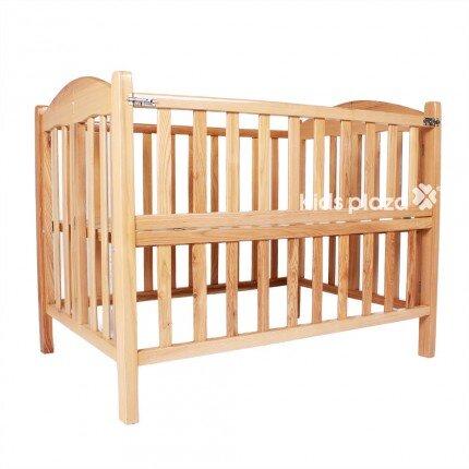 Giường cũi trẻ em 2 trong 1 gỗ sồi Mỹ