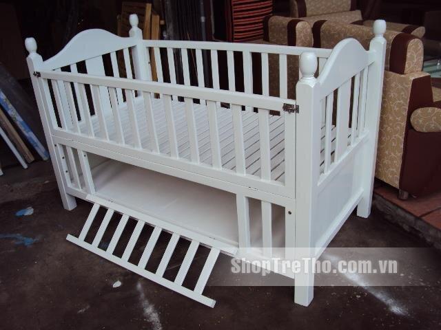 Giường cũi trẻ em kiểu Hàn Quốc