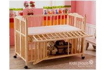 Giường cũi xuất khẩu Bonitta - 70x120 cm