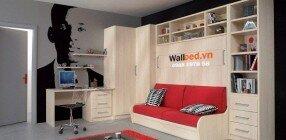Giường gấp bằng gỗ MFC