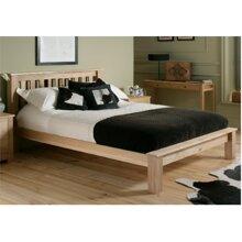 Giường nan gỗ sồi trắng Oak Ranges - 1m6x2m