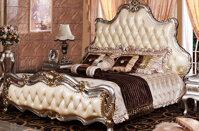Giường ngủ cao cấp chất liệu gỗ sồi OAK RA810G