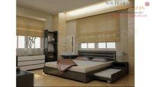 GIƯỜNG NGỦ sofa nhập khẩu malaysia GN043