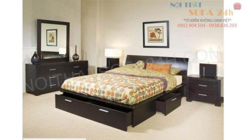 GIƯỜNG NGỦ sofa nhập khẩu malaysia GN042