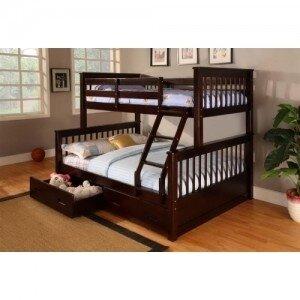 Giường tầng gỗ GTG007