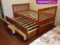 Giường tầng gỗ GTG009