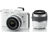 Máy ảnh Nikon V1 (Lens 10-30mm) Trắng