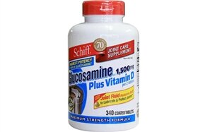 Glucosamine plus Vitamin D Schiff 340 viên