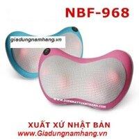 Gối massage hồng ngoại Nhật bản NBF-968