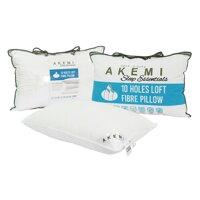 Gối Nằm Akemi Sleep Essential 10 Holes Loft Fibre Pillow AKI63042PIL - 48x74 cm