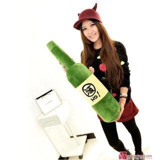 Gối ôm hình chai rượu size M - 27049