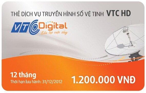 Gói thuê bao trả trước VTC HD 12 tháng