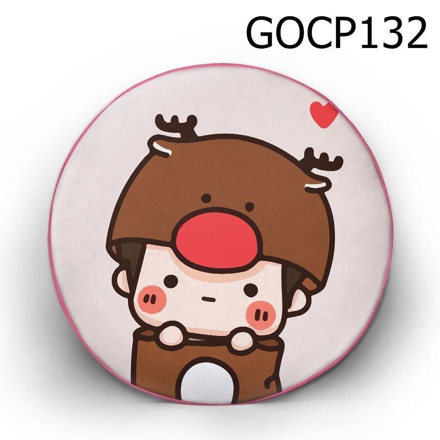 Gối tròn Cậu bé tuần lộc - GOCP132