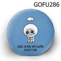 Gối tròn Chiều hoàng hôn buông - GOFU286