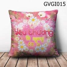 Gối tròn Chờ yêu thương về ngang đời ta - GVGI015