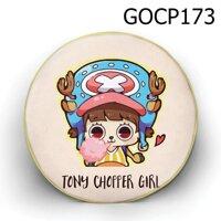 Gối tròn Cô bé Chopper - GOCP173