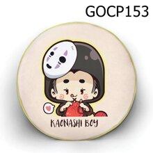 Gối tròn Cô bé vô diện - GOCP153
