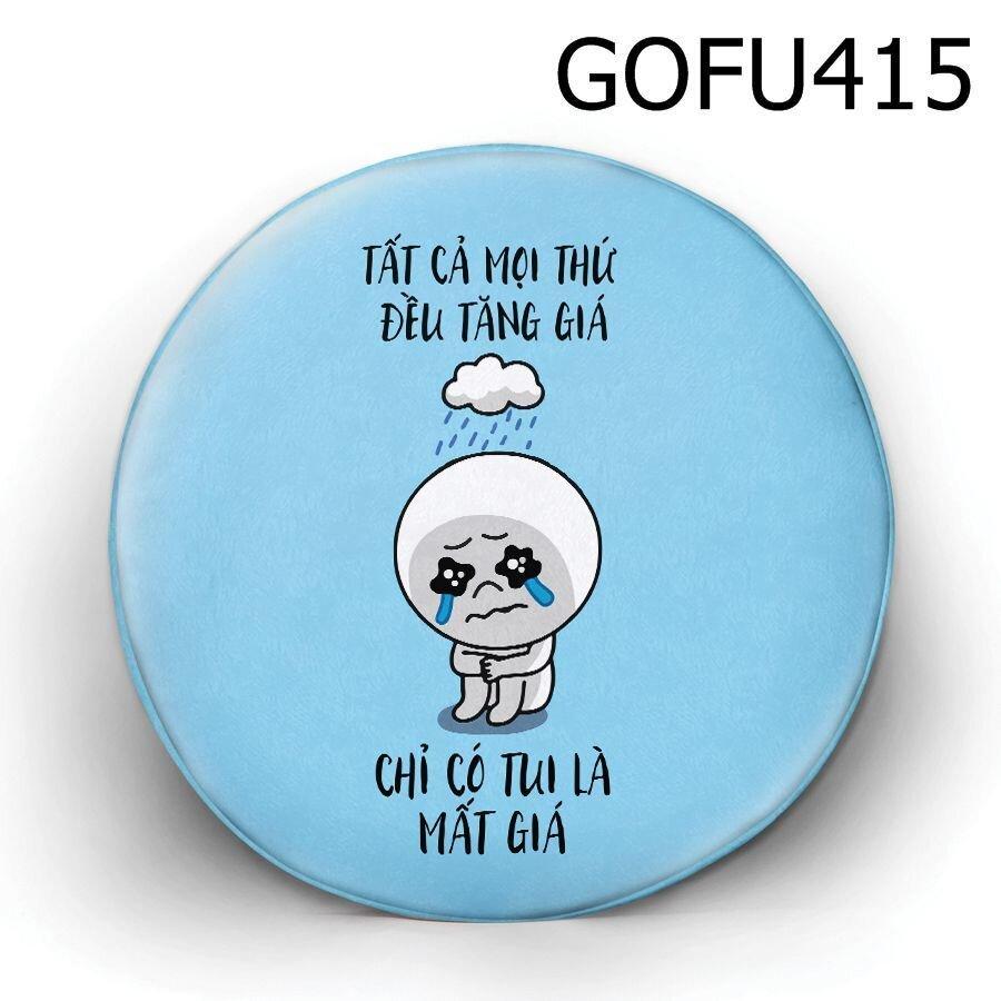 Gối tròn tất cả mọi thứ đều tăng giá - GOFU415