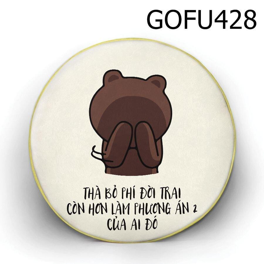 Gối tròn thà bỏ phí đời trai - GOFU428