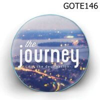 Gối tròn The journey - GOTE146