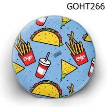 Gối tròn thức ăn nhanh - GOHT266