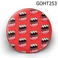 Gối tròn thùng nước coca - GOHT253