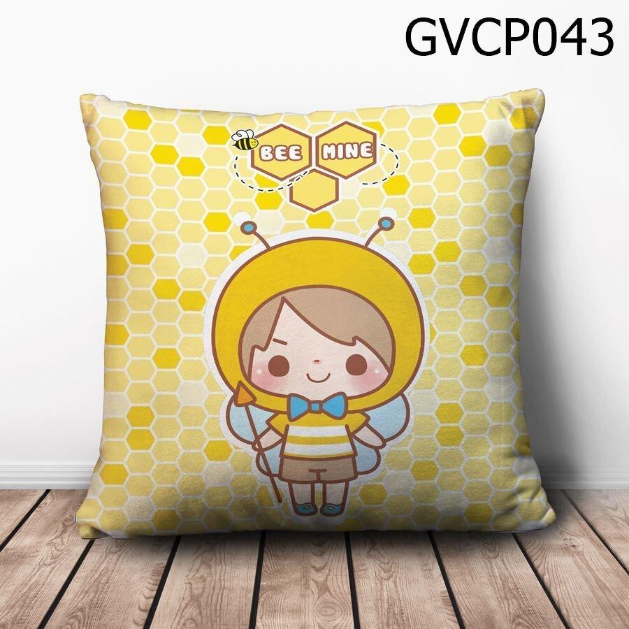 Gối vuông cậu bé ong vàng - GVCP043