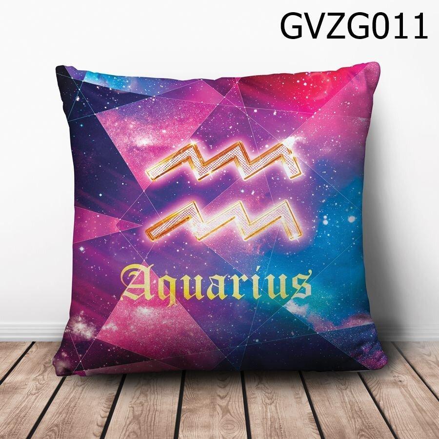 Gối vuông Cung bảo bình Galaxy - GVZG011