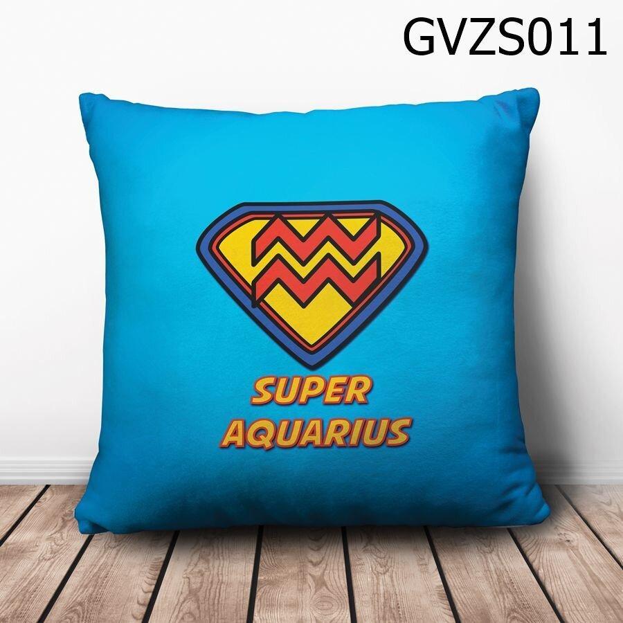 Gối vuông Cung bảo bình Superman - GVZS011