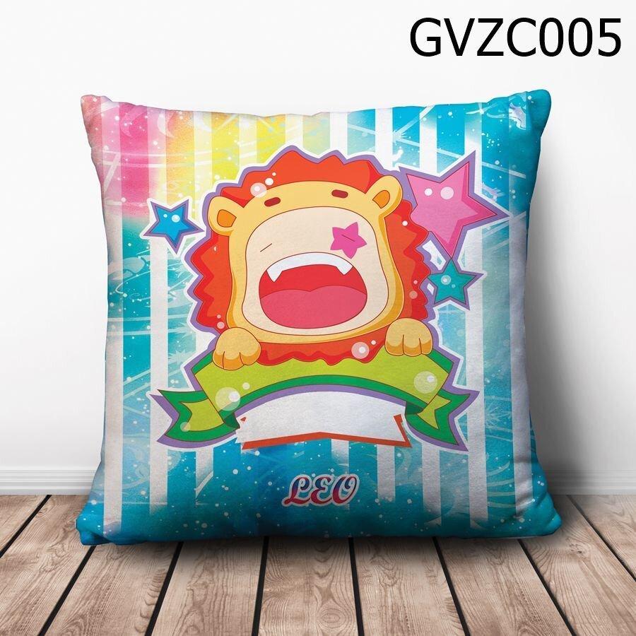 Gối vuông Cung sư tử chibi - GVZC005