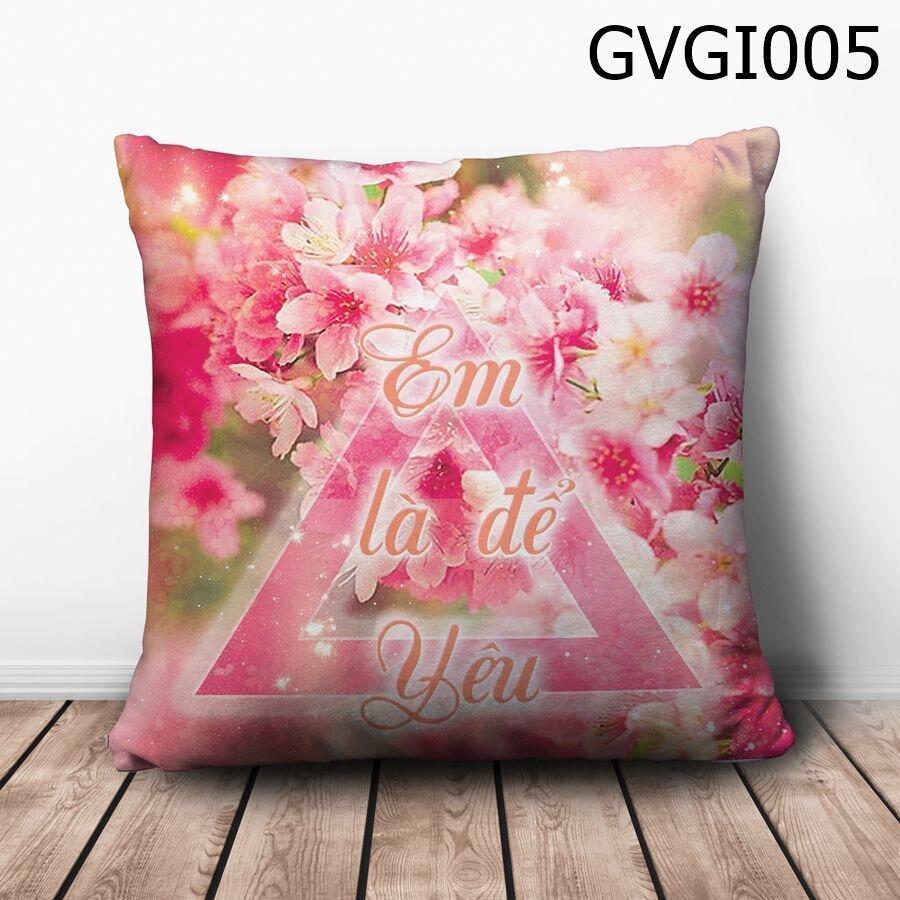 Gối vuông Em là để yêu - GVGI005