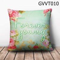Gối vuông Forever Young - GVVT010