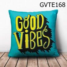 Gối vuông Good Vibes - GVTE168